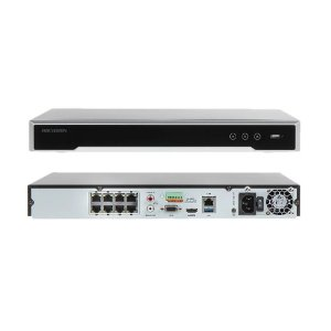 HIKVISION NVR 08CH 4K 2HDD 8MP H.265 DS-7608NI-Q2/8P POE