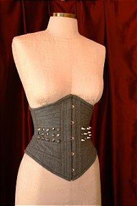 Waist Cincher corset model in 100% cotton light tailoring fabric