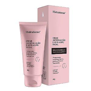 Creme Antipoluição e Anti-Aging Facial - 60 g - Hidrabene