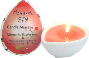 Candle Massage Momento Eu Me Amo 65g - Epidermis