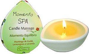 Candle Massage Momento Equilíbrio 65g - Epidermis