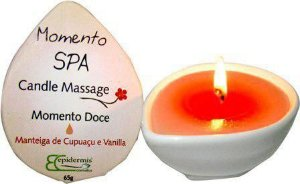 Candle Massage Momento Doce 65g - Epidermis