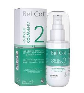 Fluido de Colágeno 20+ Peles Mistas e Oleosas 30 ML - Bel Col