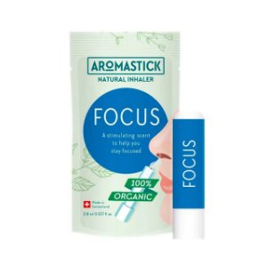 AromaStick Inalador Nasal Orgânico Foco