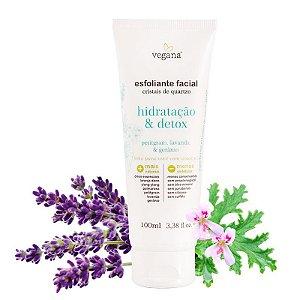 Esfoliante Facial Hidratacao E Detox 100 ML - Vegana