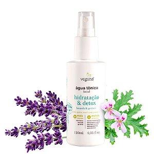 Água Tonica Facial Hidratacao E Detox 120Ml - Vegana
