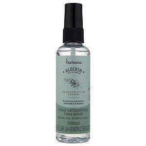 Spray Antisséptico Para Mãos Alecrim - Via Aroma