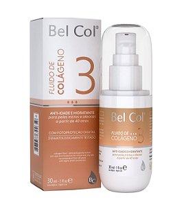 Fluido de Colágeno 40+ Peles Mistas e Oleosas 30 ML - Bel Col