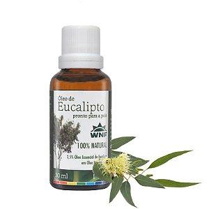 Óleo de Eucalipto pronto para pele 30ml - WNF
