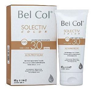 Solective Color FPS 30 Protetor Solar com Tonalizante - Areia 60 G - Bel Col