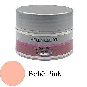 GEL UV/ LED HELLEN COLOR SILVER BEBE PINK 35G