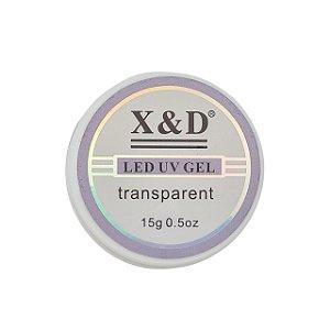 GEL LED/UV X&D TRANSPARENTE 15G