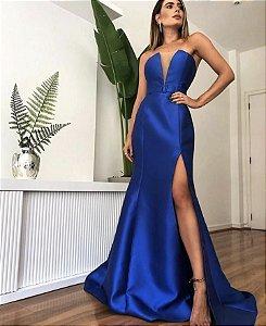 Vestido Lais Azul