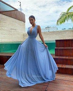 Vestido Luka azul