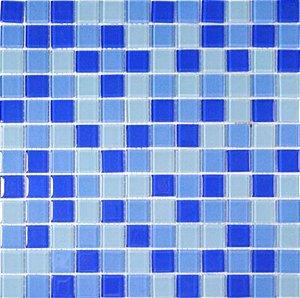 MIX CRISTAL GLASS TONS DE AZUIS CG25/CG26/CG27