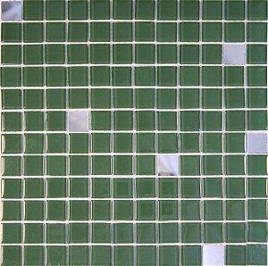 CRISTAL GLASS ESPELHO E VERDE CG42-CG23