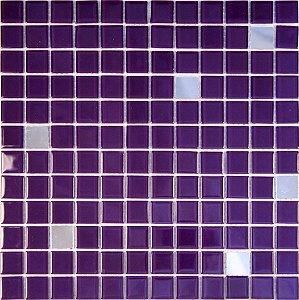 CRISTAL GLASS ESPELHO E ROXA CG42-CG34