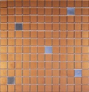 CRISTAL GLASS ESPELHO E BRONZE METÁLICO CG42-CG43