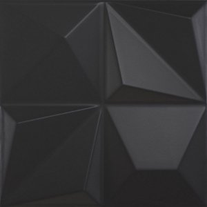DUNE MULTISHAPES BLACK 25X25 CM