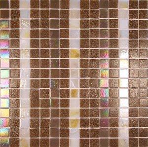 PASTILHA DE VIDRO MARROM LINEAS GL335 - GL351 - K21