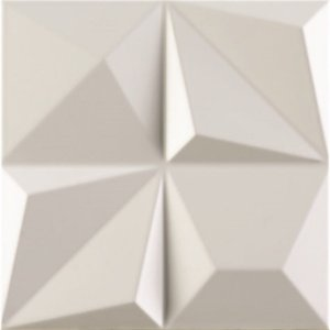 DUNE MULTISHAPES WHITE 25X25 CM