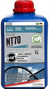 NT70 - VIDROS E ACRÍLICOS IMPERMEABILIZANTE INSTANTÂNEO 1 LITRO - PERFORMANCE ECO
