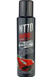 NT70 AUTO LIMPEZA A SECO POLIMENTO, BRILHO E PROTEÇÃO 150 ML - PERFORMANCE ECO