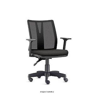 Cadeira Diretor Addit Preta PU