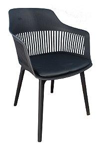 Cadeira em Polipropileno Montreal Preta
