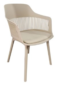 Cadeira em Polipropileno Montreal Nude