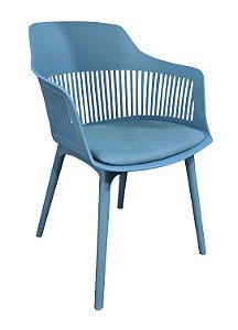 Cadeira em Polipropileno Montreal Azul
