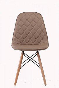 Cadeira Eames Dkr Eiffel Estofada Metalassê Fendi