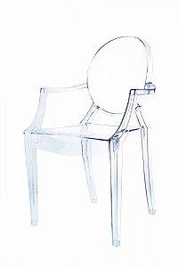 Cadeira Louis Ghost Incolor Policarbonato