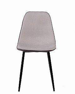 Cadeira lyon Assento Estofado Base em Aço