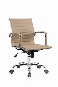 Cadeira Office Giratória Charles Eames Esteirinha Fendi
