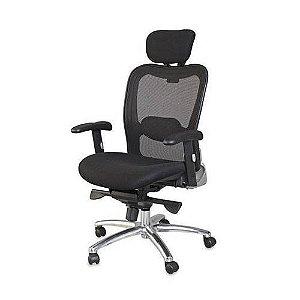 Cadeira Presidente Executiva New Ergon Ergonômica Preto