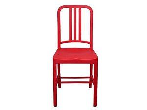 Cadeira Navy Polipropileno Vermelha