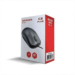 MOUSE USB COM FIO MS-35 C3 PLUS