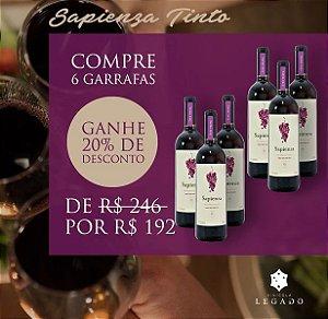 Combo Sapienza Tinto -06 garrafas