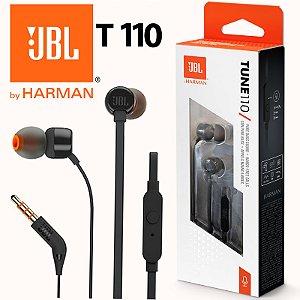 Fone de ouvido  JBL Tune 110 Preto