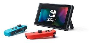 Nintendo Switch 32GB Standard cor vermelho-néon azul-néon