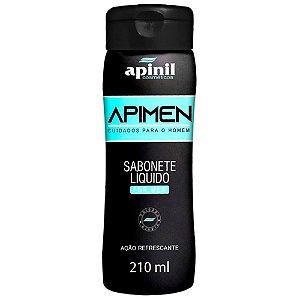 APIMEN SABONETE ÍNTIMO MASCULINO 210 ML APINIL