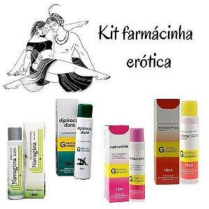 Kit Farmácia Erótica 5 Itens - Secret Love