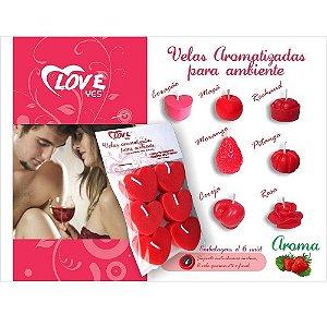 VELAS AROMATIZADAS PARA AMBIENTE LOVE YES