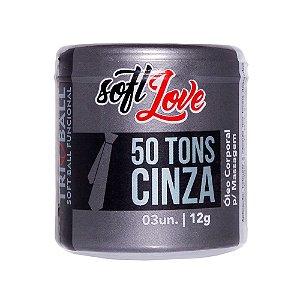 SOFT BALL 50 TONS DE CINZA TRI BALL SOFT LOVE