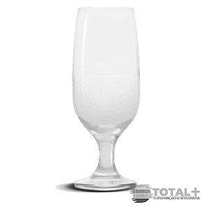 Taça Tulipa de Vidro Transparente 325ml