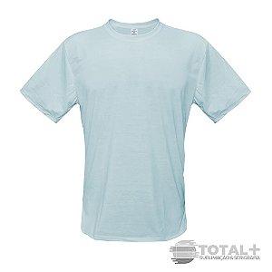 Camiseta Poliester Azul claro Gola Redonda