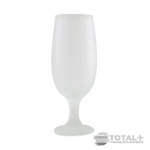 Taça Tulipa de Vidro Fosco 325ml