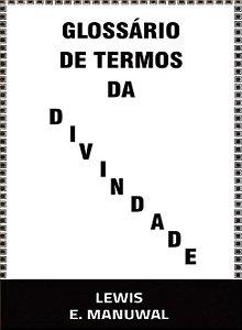 GLOSSARIO DE TERMOS DA DIVINDADE