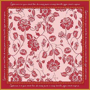 Lenço Grande Flor de Laranjeira Ref.: 081771